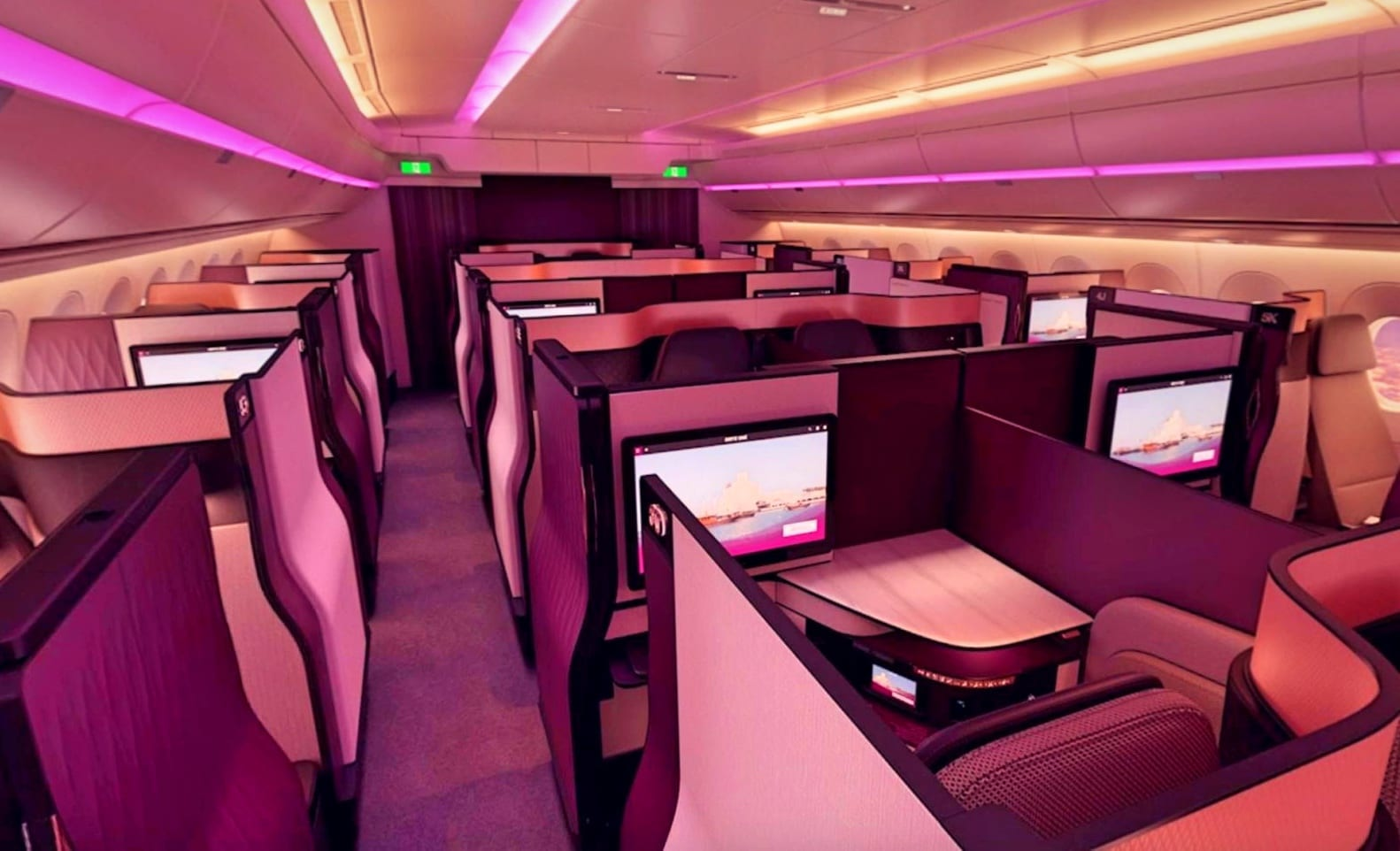 "Qatar Airways Announces Complete ""QSuites"" Business Class Expansion... - God Save The Points"