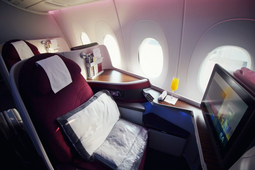 Special deals business class sydney to europe