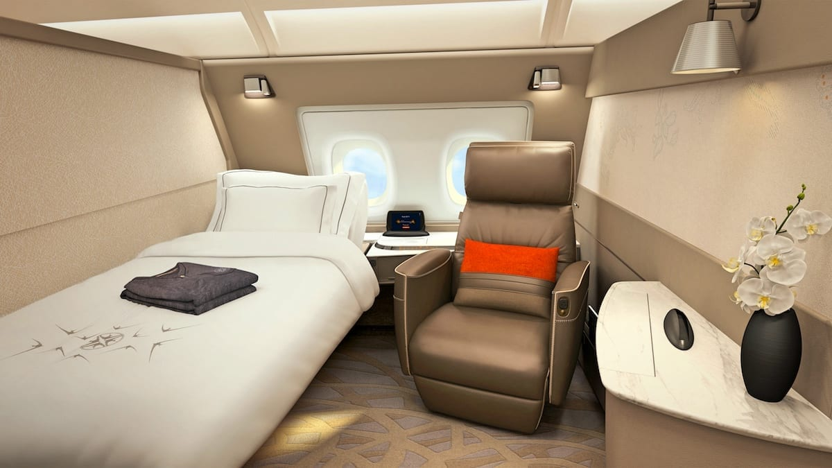 How To Fly Singapore Airlines New First Class Suites Using Points ...