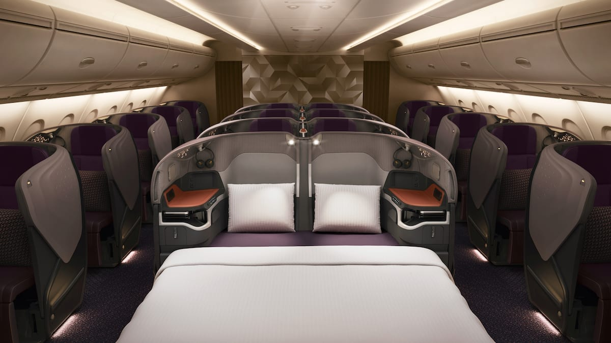 How To Fly The World S Longest Flight In Business Class For 1200 God Save The Points