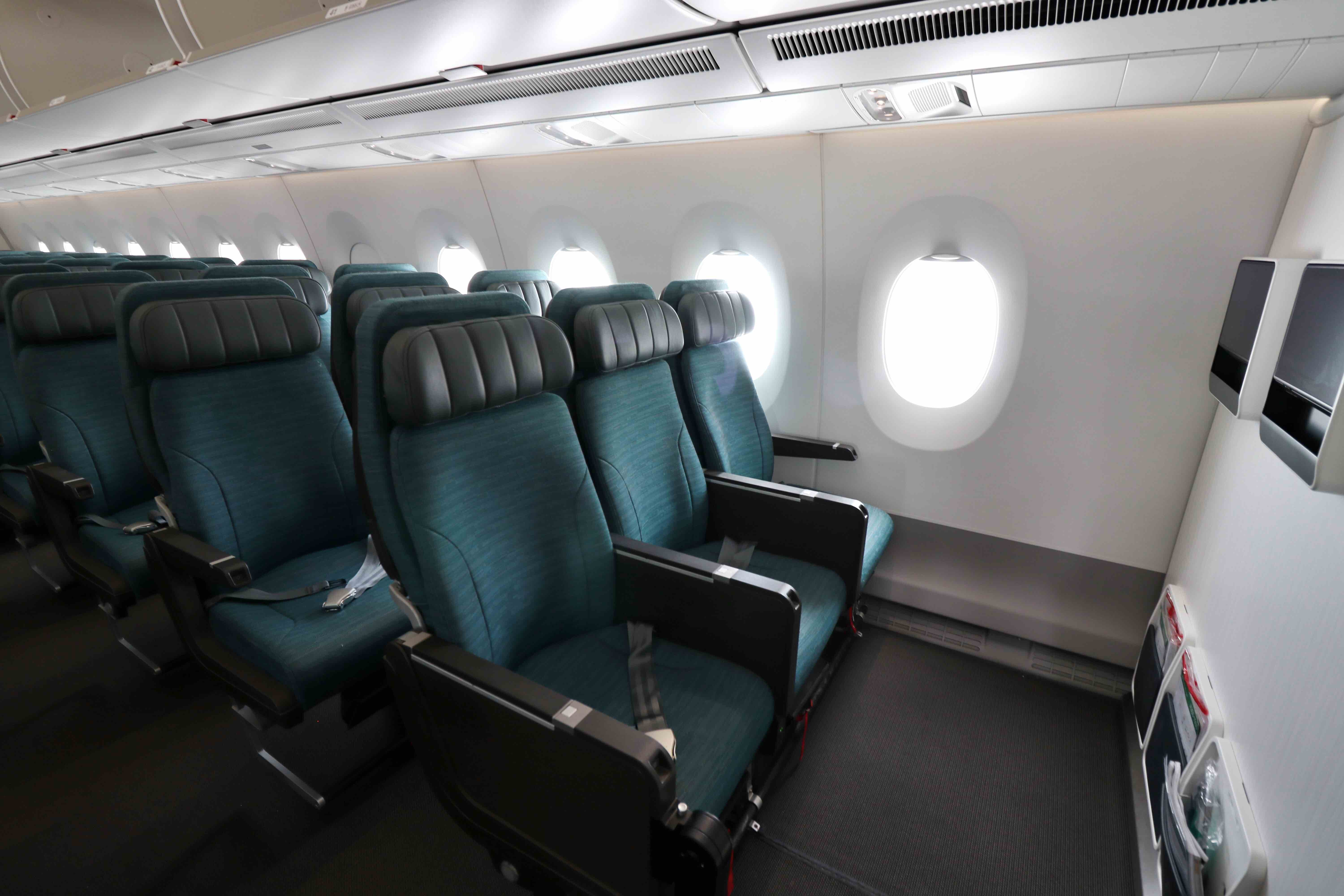 A Sneak Peek At Cathay Pacific S New Airbus A350 1000