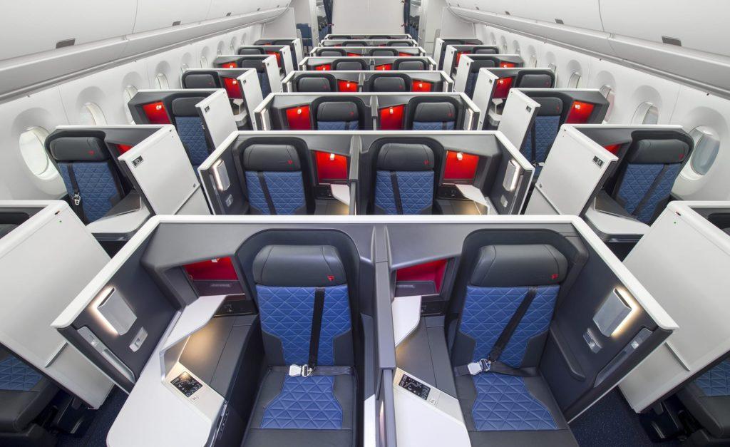 Delta one Suites Cabin