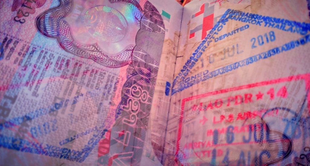 Visa Passport Stamps
