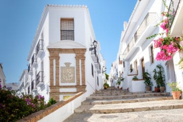 Frigiliana is a popular day trip for visitors to the seaside resorts of the Costa del Sol in southern spain. It has been voted the prettiest village in Spain several times.