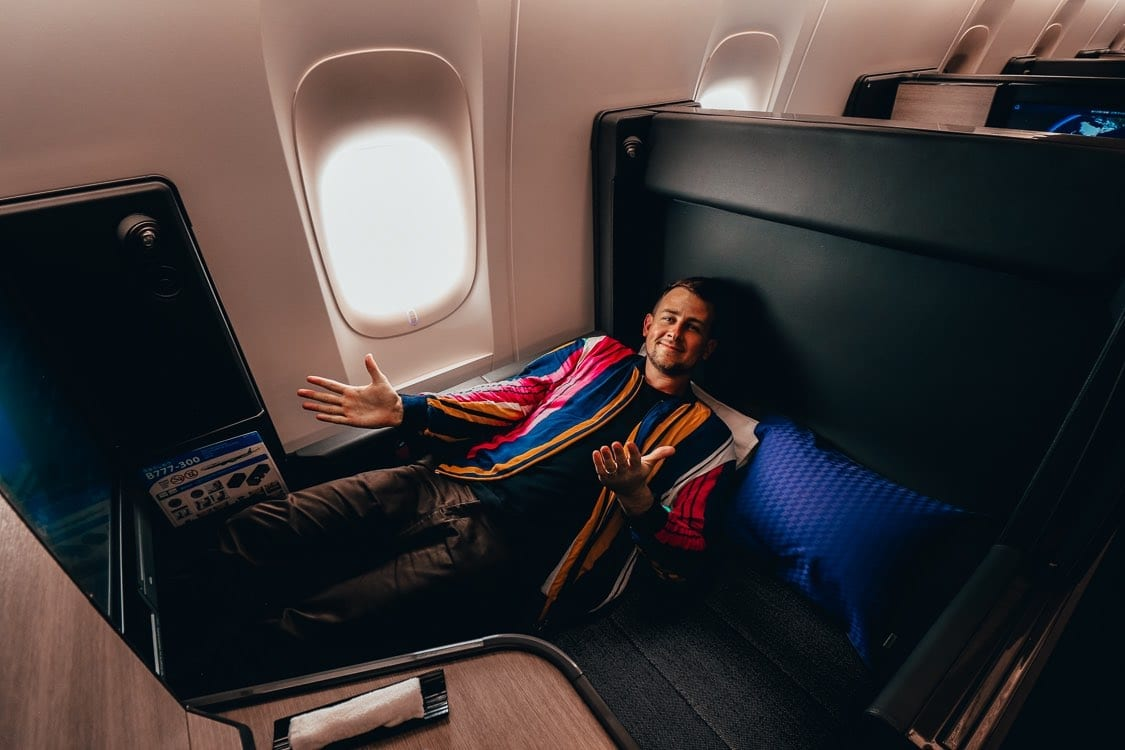 Review Ana Quot The Room Quot Business Class 777 300er New World