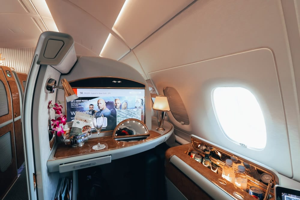 LUXURY DEAL: EMIRATES FIRST CLASS EUROPE TO ASIA FROM £2375 - God Save The Points