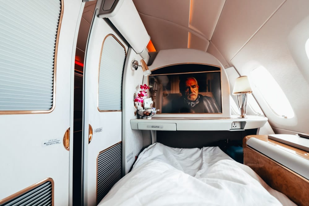 Review: Emirates A380 First Class || It's Bonkers...